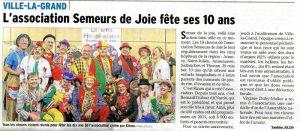Dauphiné Libéré - 21/11/2015